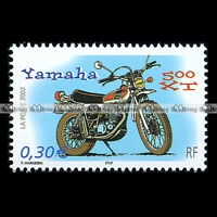 ★ YAMAHA XT 500 ★ FRANCE Trail Timbre Moto Motocicleta Motorcycle Sello #117