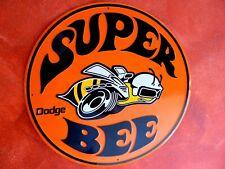 DODGE SUPER BEE Blechschild 60cm! Mopar Daimler Chrysler Charger Challenger Hemi