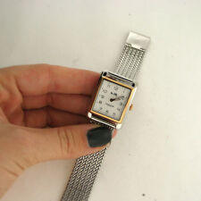 Coach 14502664 Page Two Tone Stainless Watch Mesh Link Band Parts Not Working