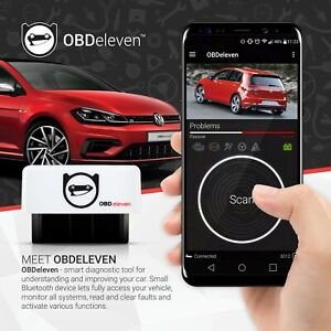 OBDeleven Android Audi VW Bluetooth Diagnostic Tool OBD2 VAG CAN UDS VAS VCD COM