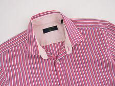 rl891 Ted Baker camicia maglietta Archive ORIGINALE PREMIUM TAGLIA 15