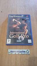 INTERNATIONAL GOLF PRO / PS2 SONY PLAYSTATION 2 PAL COMPLETO