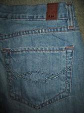 ABERCROMBIE & FITCH Emma Boot 100% Light Blue Denim Jeans Womens Size 2 S x 30.5