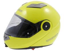 Flip up Helmet,Scooter Helmet,Motorcycle Helmet Takachi TK380 Neon Yellow - L