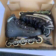 New ListingTour Hockey Thor Goalie G-1 Inline Skates Men's Sz 7.5 Labeda Predator Pro 73Gl