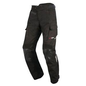 Alpinestars Andes Drystar v2 Motorcycle Bike CE Pants Short Trousers - Black