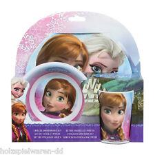JoyToy 755790 congelado - ice Queen Set de vajilla 3-tlg Melamina Niños ! #