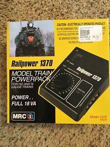 MRC Model Train Powerpack Railpower 1370 for HO and N Gauge Mint In Box