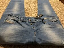 NWT DIESEL BUSTER SLIM TAPERED C681W DESIGNER MEN'S JEANS SIZE 34X32