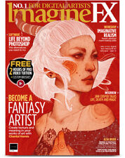 ImagineFX Magazine Issue 176 August 2019 Becoming A Fantasy Artist Imagine FX