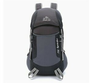 Clever Bees Outdoor Hiking Rucksac 35L Black/grey