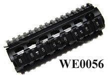 WE RIS Metal Airsoft Toy Handguard (BLACK) - WE-0056