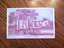 Vintage 1800s The Diamond Dyes Charlecote Hall Warwickshire England Trade Card