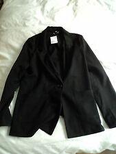 Black ladies suit jacket, size 14, H&M