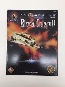 TSR Stardrive Schwarz Starfall Sci-Fi Rollenspiel RPG D & D Richard Baker 2806