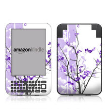 Kindle Keyboard Skin - Violet Tranquility - Sticker Decal