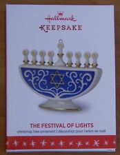 Hallmark Festival Of Lights Hanukah Ornament