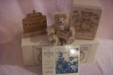 "Robert Raikes Mohair 5""  Bear Oren  COA  LE #400/500 Carved wood Box Sign Tag"