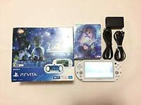 Sony PS Vita Final Fantasy FF X X-2 limited White w/Charger [Exc+++] from Japan