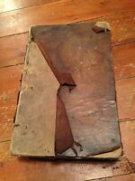 1756 new law dictionary 7th edition  large heavy leather bound book )