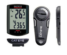 CatEye Strada Slim Wireless - 8 Function Road Bike Computer - Black