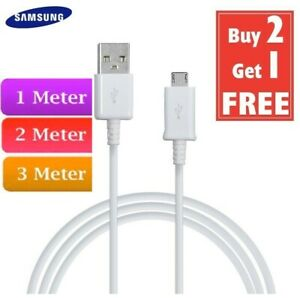 Fast Micro USB Charger Charging Lead Data Sync cable for Samsung Amazon phones