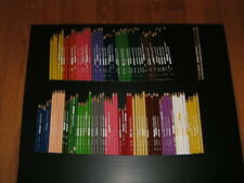 pre-owned SANFORD USA-labeled 110-LAURENTIEN PENCIL CRAYONS-GOLD/SILVER metallic