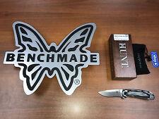 "*New* Benchmade 15031-1 North Fork Folding Knife 2.97"" S30V Blade Hunting Knife"