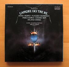 RL 01945 Montemezzi L'Amore Dei Tre Re Placido Domingo Anna Moffo RCA 2xLP NM/EX