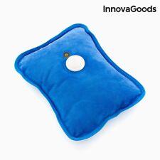 Wärmeflasche Innova Goods elektrische Wärmekissen 600W Heizkissen blau NEU