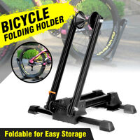 Portable Floor / Wall Mounted Bicycle Stand - Mountain Bike Holder Support Rack