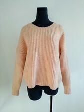 Gorman Pale Pink Merino Wool Knit Jumper AU 8 10 M