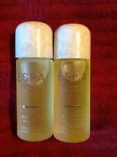 ESPA Restorative Bath & Body Oil 2 X 15ml New