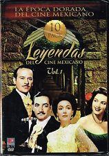"""LEYENDAS DEL CINE MEXICANO """"10 PELICULAS EDICION ESPECIAL"""" VOL.1"""