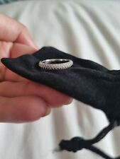 18ct White Gold Ring Size L
