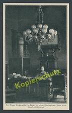 Dr. Karl Lueger Wien Rathaus Arbeitszimmer 60. Geb. K.u.K Österreich-Ungarn 1904