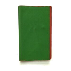 Hermes Diary Cover  Greens Leather 1304630