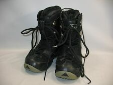 New listing Fifty One 5150 Squadron Snowboarding Boots Men's Size 6 ~ Eu 38 ~ Cm 24 Black