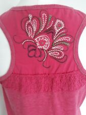 Women's FAT FACE PINK TOP SIZE 10