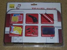 Paquete De Accesorios De Nintendo Ds Lite! totalmente Nuevo! caso Juego de Consola coche cargador Stylus