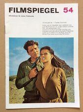 Filmspiegel 1967 (54) - Claudia Cardinale / Pierre Brice / Burt Lancaster