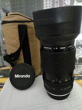 Miranda macro objectif 35-135 mm Mont PENTAX K