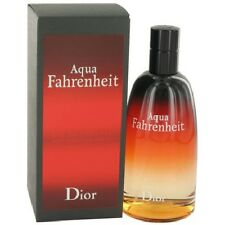 Aqua Fahrenheit by Christian Dior 4.2 oz EDT Cologne for Men New In Box