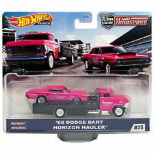 Hot Wheels Team Transport '68 Dodge Dart with Horizon Hauler #25