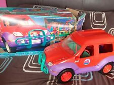 VINTAGE 1990'S BOXED SINDY SPACE 4x4 PLUS ACCESSORIES