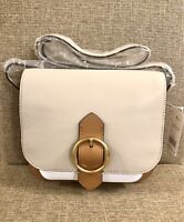 New with Tags Banana Republic Italian Leather Saddle Bag - Colorblock MSRP $148