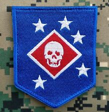 Marine Raiders Infrared Patch - MARSOC,USMC,SOF Hook Loop Blue Morale Badge