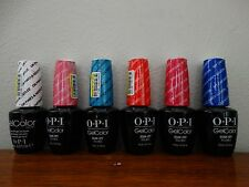 OPI GELCOLOR SET OF 6 BRIGHTS COLLECTION SUMMER 2015 GC A71 to GC A76- 0.5 FL.OZ