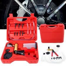 Auto Car Hand-Held Vacuum Pressure Pump Tester Kit Brake Fluid Bleeder Accessory