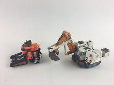 Lot of 2 Transformers Beast Machines Scavenger Complete Armada Hoist No Refute